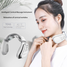 Neck Massager Cervical Vertebra Instrument Multi-function Vibration Pulse Household Intelligent Protector