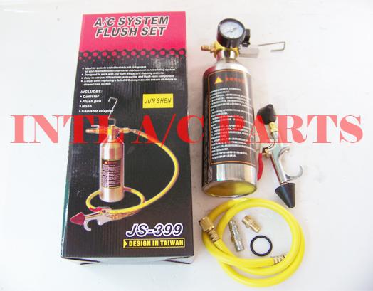 Flush Canister Gun Kits Clean Tool Set R134a R12 R22 R410a R404a for Auto  A/C Air Conditioning
