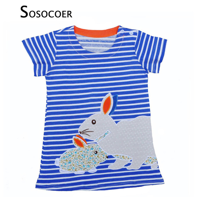 eb23e5346fb5 SOSOCOER Girl Dress Pretty Baby Girl Clothes Outfits New 2017 Summer ...