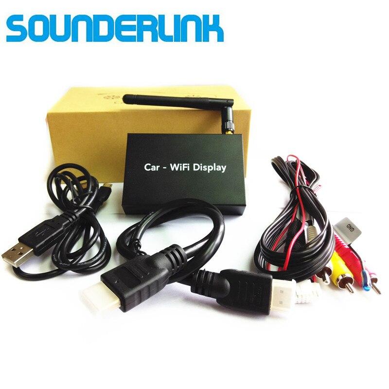 車の無線 Lan ディスプレイミラーリング受信機ミラー Mirabox HDMI コンバータボックススマートテレビ AV ドングルルータアンドロイド iOS ワイヤレススクリーン  グループ上の 家電製品 からの TV スティック の中 1