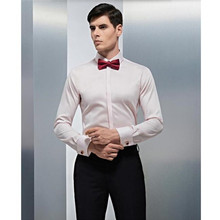 handsome men shirt comfortable groom wedding shirt custom made white soft formal shirt business shirt long sleeve