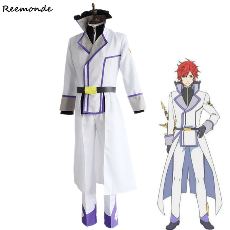 Re Zero kara Hajimeru Isekai Seikatsu Cosplay Costume Reinhard Van Astrea Combats Full Set For Men Boys School Uniform Clothing