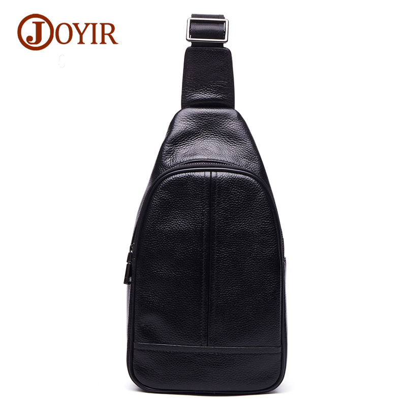 Joyir fashion man shoulder bags high quality genuine leather crossbody bags for men messenger bag small brand male bag 6325 xi yuan 2017 genuine leather bags men high quality messenger bags small travel dark brown crossbody shoulder bag for men gifts