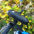 Para iphone 5 6 7 plus samsung s6 7 borde note3 4 5 de La Motocicleta Impermeable Cubierta Impermeable de la Bicicleta Bolsa Titular de Teléfono bolsa