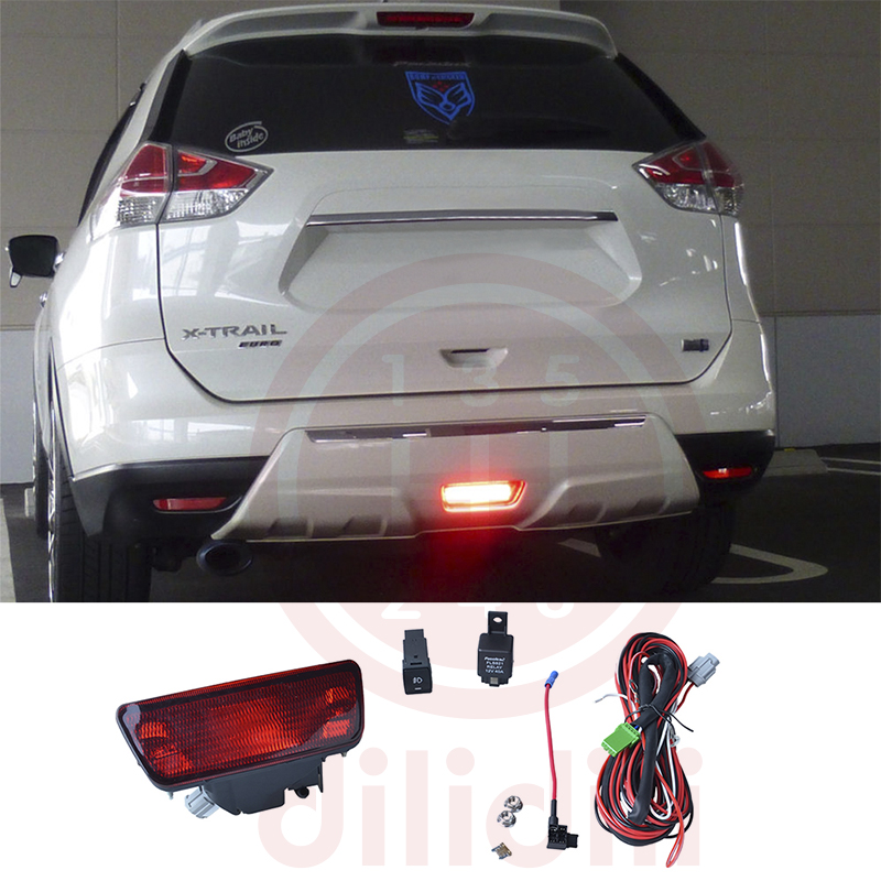 Arrière Bumpe Brouillard Lumière Lampe kit pour Nissan juke rogue x-trail x trail