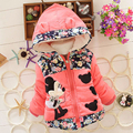 New 2016 Winter Children Jacket Hoodies Toddler Outerwear Warm Coat Hoodies Long outwear kids jackets casual fashion jackets