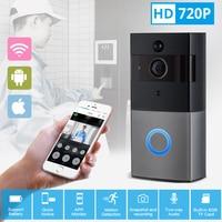 KERUI Video Intercom Doorbell 720P HD Wifi Security Camera Real Time Two Way Talk And Night