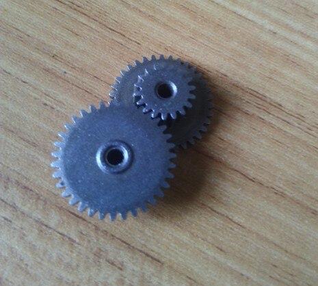 10pcs powder metallurgy dual motor spur gear 0.5m gear 15-35T 0.5m(18T) 0.5m(35T) 9.8H 2.5mm R hole/Meat Grinder Parts etc.