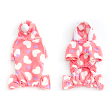 Cute Dog Pajamas Soft And Cozy Warm Winter Pet Clothes Hoodie Sweater For Small Dogs Puppy Jumpsuit Poodle Pomeranian Favorite
