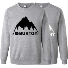 Burton New Brand Sweatshirt Men Hoodies Fashion Solid Mens Clothes Hip Hop Suit Pullover Men's Tracksuits Autumn Winter RAA0460