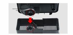 Image 4 - 1ピースsunsun HBL 802 6ワット黒簡単に使用壁掛け式外部フィルター水槽水族館フィルター機器