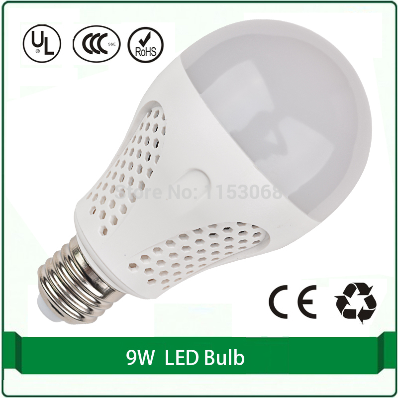 Free shipping high efficient led light 9w led bulb led light bulbs india price 220v 110 volt Led light bulb cost