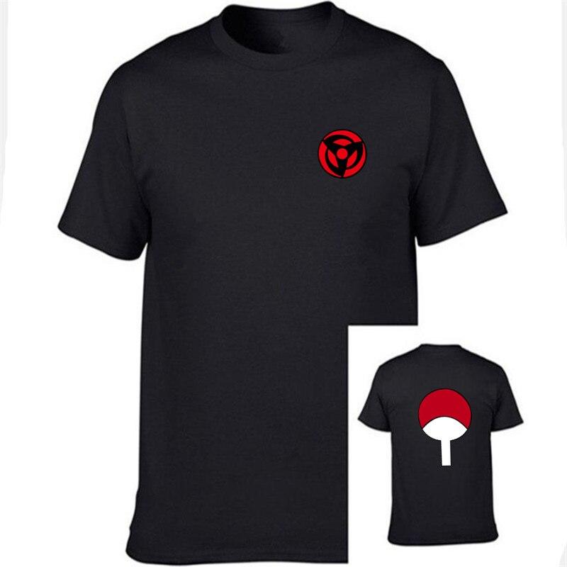 New Fashion Latest Anime   T     Shirt   Naruto Short Sleeve   T  -  Shirt   For Men & Women Unisex O-Neck   Shirts   Uchiha Family Brand Clothing