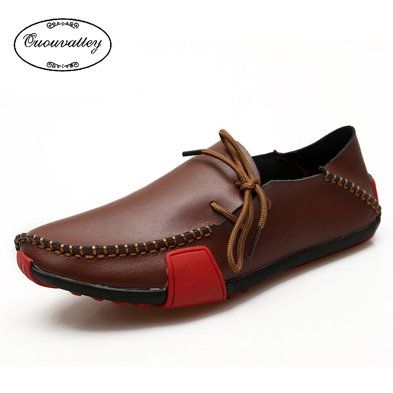 Aliexpress.com : Buy 2016 Men Shoes Summer Leather Loafers Driving ...