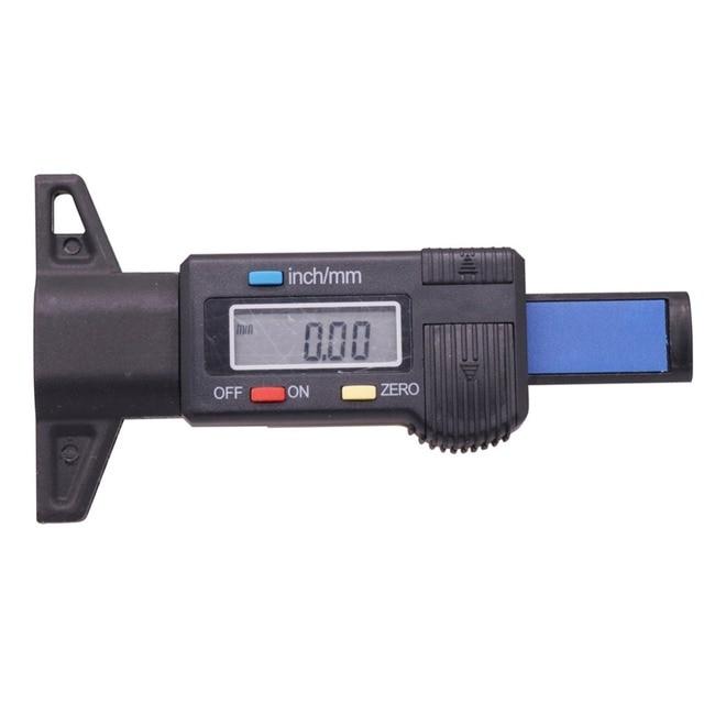 1 piezas patrón de neumático de Metal de calibre aguja sonda Digital patrón de interruptor Manual máquina puede automáticamente plástico de