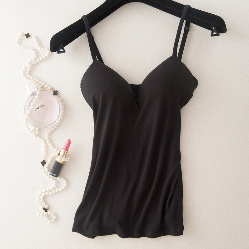 Tops Fitness Camisoles Cotton