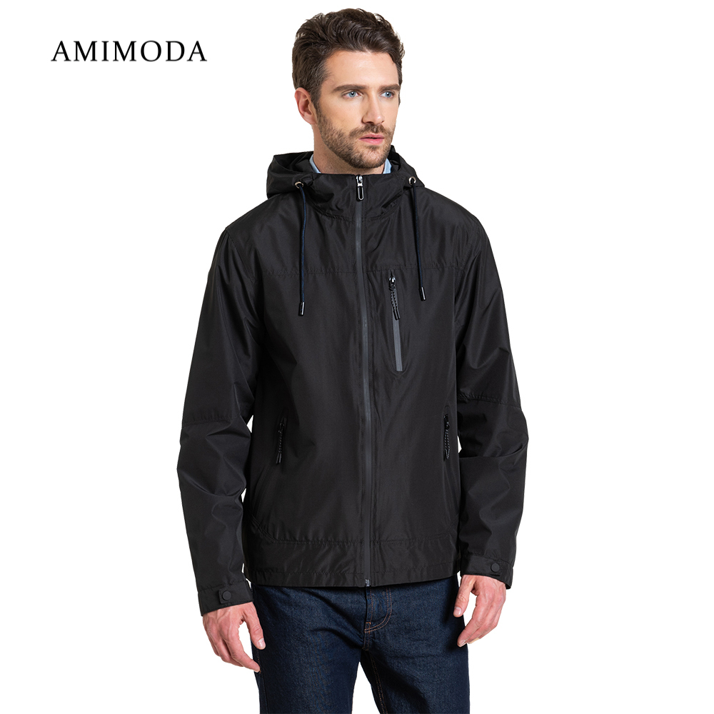 Jackets Amimoda 10024-01 Men\'s Clothing windbreakers for men jacket cloak jacket coat parkas hooded