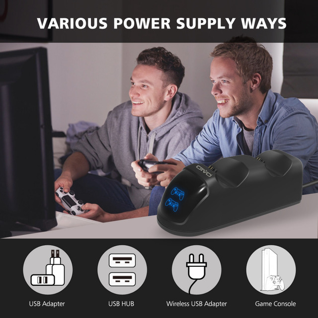PS4 Dual Shock Controller Charging Dock Station