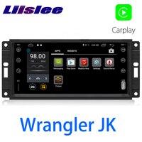 LiisLee Car Multimedia GPS HiFi Audio Radio Stereo For Jeep Wrangler JK J8 2007~2018 Original Style Navigation NAVI