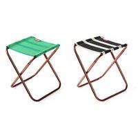 Nosii Outdoor Folding Lightweight Fishing Mini Chair Camping Picnic Beach Chair Carry Bag