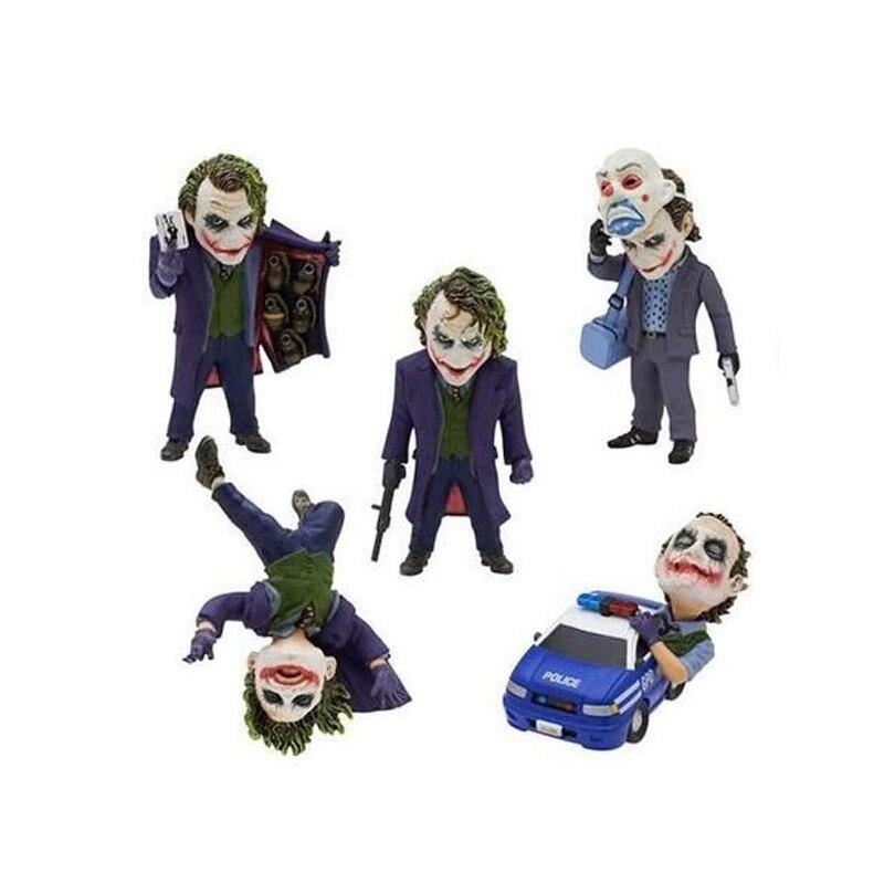 Movie Role Batman The Dark Knight The Joker Mini PVC Figures