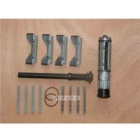 Профессиональный металлообработки инструменты Диаметр цилиндра Хорнинг инструмент HR41 хонингования голову абразивный блок двойной Грит ш