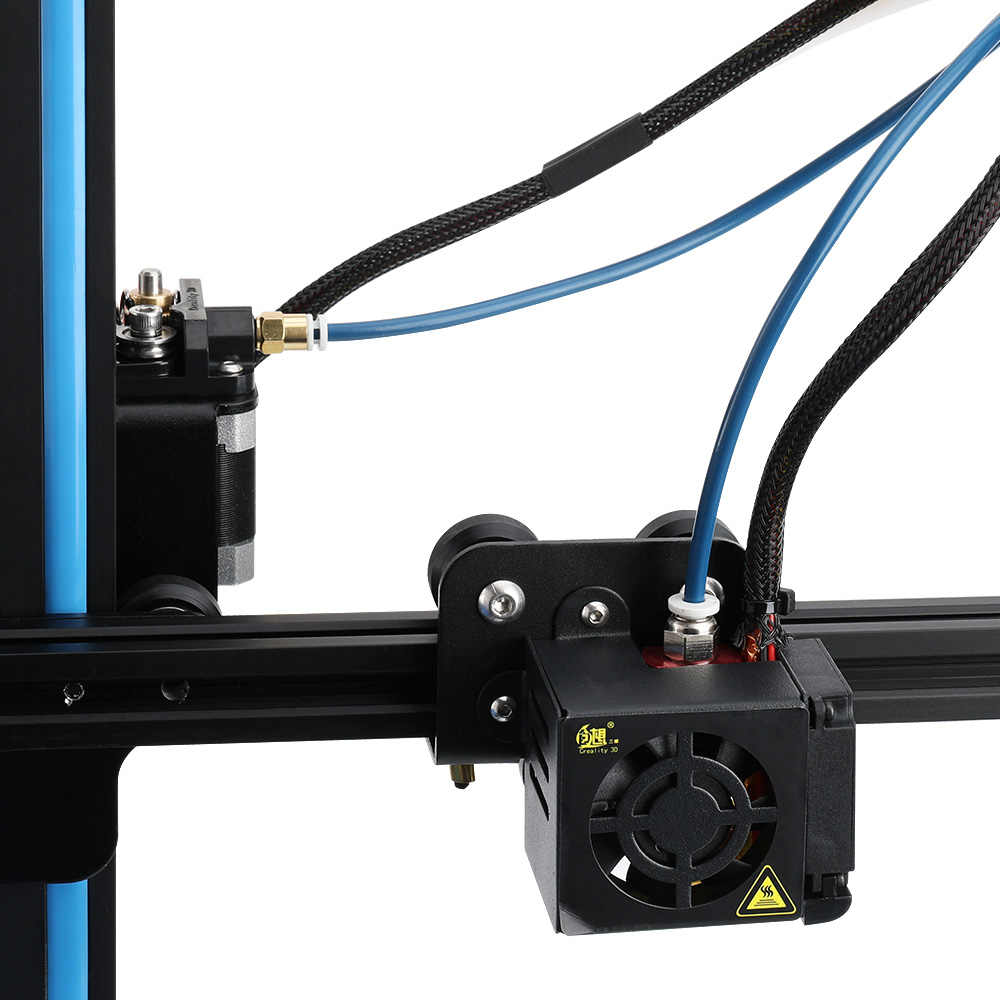 Creality 3D Capricorn Bowden PTFE Tubing XS Seri 1 Meter untuk 1.75 Mm Filamen Baru Teflon Tabung 3D Bagian Printer