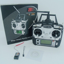 Original Flysky FS - T6 2.4GHz 6CH Transmitter For RC Aircraft Models RC Quadcopter Helicopter With LED Screen Receiver
