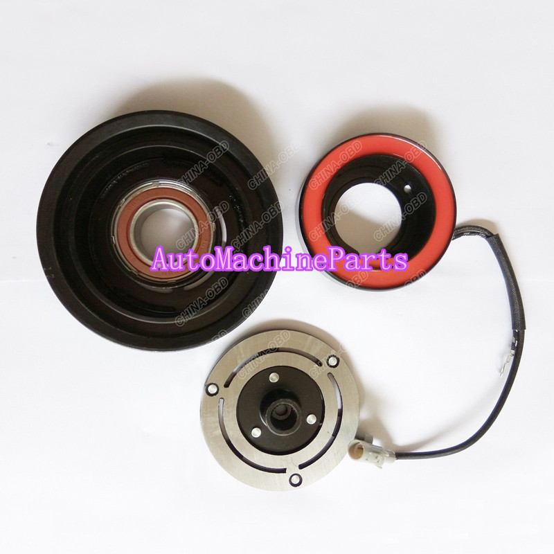 New AC Compressor Clutch 10S11C PV4 For Toyota Vios Accessories Parts 115mm new car ac compressor 88320 36560 88320 36530 for toyota coaster bus 7pk 10p30c
