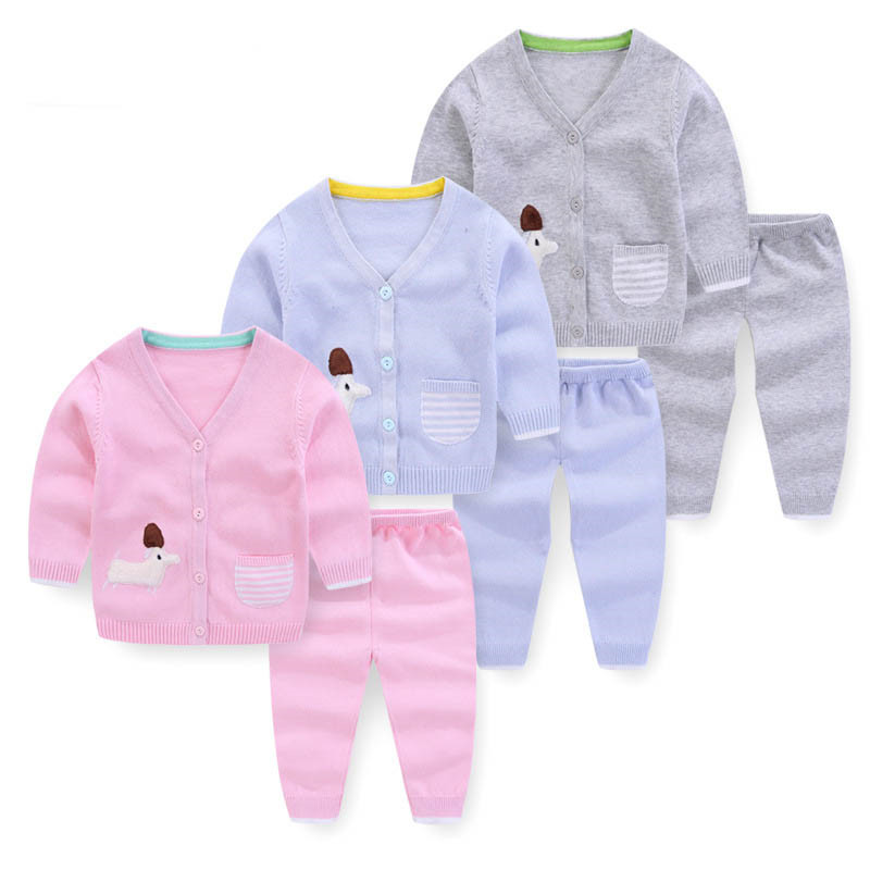 59848ed0d BibiCola baby girl clothing set sweater cardigan outfits infant kids ...