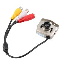 цена на Portable Infrared Wired CCTV Mini Camera Security Color Night Vision Video Recorder