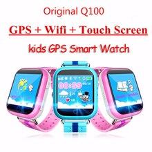 Original Q100 Q750 Smart Baby children Kids phone GPS Tracker Smart Watch kids GPS Wifi Location child SOS Call Anti-Lost Device