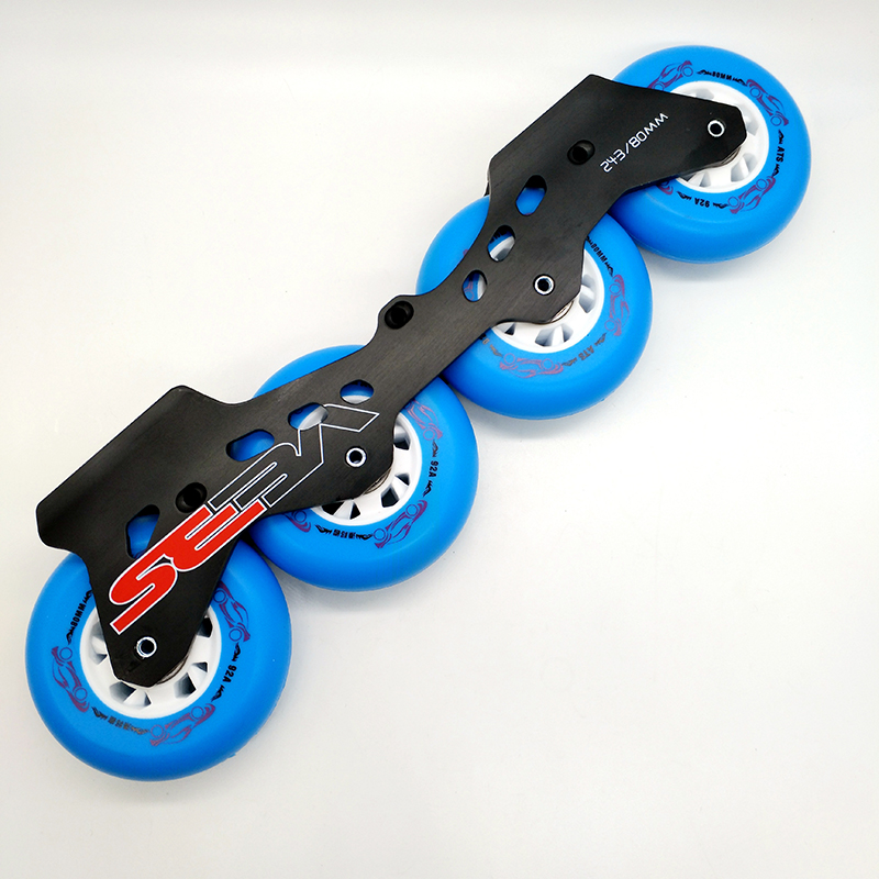 free shipping roller skates frame seba frame 231 mm and 243 mm with wheel
