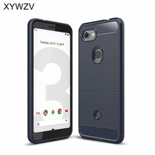 For Google Pixel 3a Case Armor Protective Soft Silicone Phone Back Cover Fundas