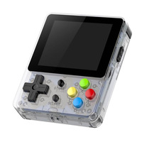64Bit Portable Mini Pocket 2.6''Handheld Game Players Retro Family TV Output Video Game Console Linux System Built in Simulators
