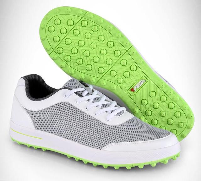 2018 Hot PGM Men golf shoes mesh Breathable ultra-light non-slip golf  Sneakers men leather sneakers men sports shoes 8c5b32f9a62