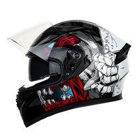 Motorcycle Helmet Full Face Helmet Moto Casco Motocross Helmet Motor Capacete Da Motocicleta Racing Capacete Moto Glasses