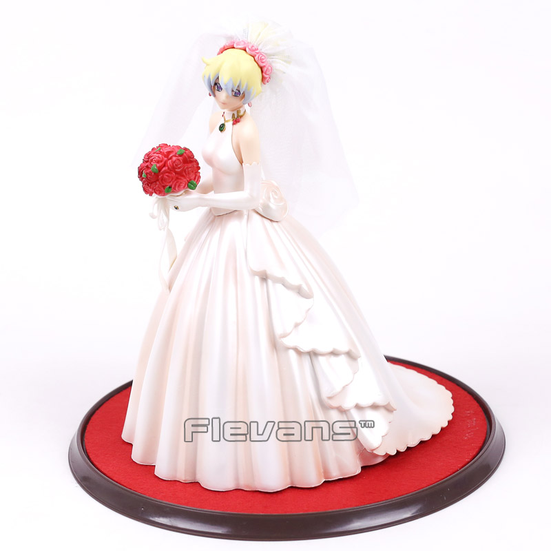 Anime Milestone Gurren Lagann Nia Teppelin Wedding Dress Ver. 1/8 Complete Figure Collectible Model Toy 23cm