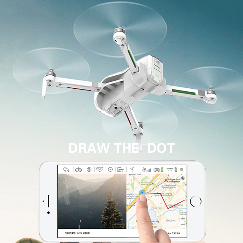 Image 5 - Professional FPV GPS Drone 4K with Camera HD WIFI Brushless Motor RC Quadcopter 25 Minute Flight Time Racing Helicopter RTF Dron-in RC Helicopters from Toys & Hobbies