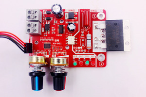 Image 5 - Spot Welders control Board 100A Digital display Spot welding time and current controller panel timing Ammeter