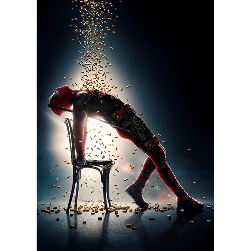 Мстители эндшпиль фильм железный человек Капитан Америка Холст плакат Декор печать живопись стены Искусство для бара кафе гостиная спальня - Цвет: 16
