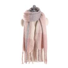 bb13846fa60c Mujeres invierno Cashmere Blend Pashmina del Mantón del abrigo de la bufanda  de las mujeres Invierno Caliente moda chal bufanda .