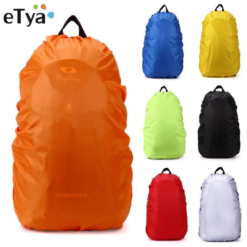 ETya 35L Waterproof Ultralight Backpack Rain Cover Travel Cover Rucksack Bag Multifunction School Bags Dust Covers
