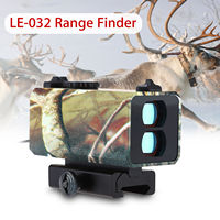 SEESII 700m Mini Laser Rangefinder For Riflescope Laser Sight Rifle Scope Mate Distance Speed Range Finder