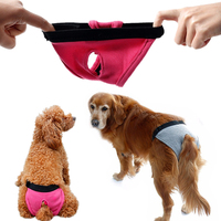 XS L Female Dog Shorts Puppy Physiological Pants Diaper Stretchy Pet Underwear For Small Large Girl