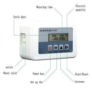 Image 3 - 2 in 1 태양 에너지 자동 급수 장치 화분 용 식물 물방울 관개 시스템 키트 정원 홈 지능형 워터 펌프 타이머