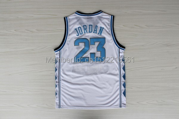7dcf165d4 Retro University Jersey  23 Michael Jordan Jersey Michael Jordan North  Carolina Throwback Embroidered Basketball Jersey-in Basketball Jerseys from  Sports ...