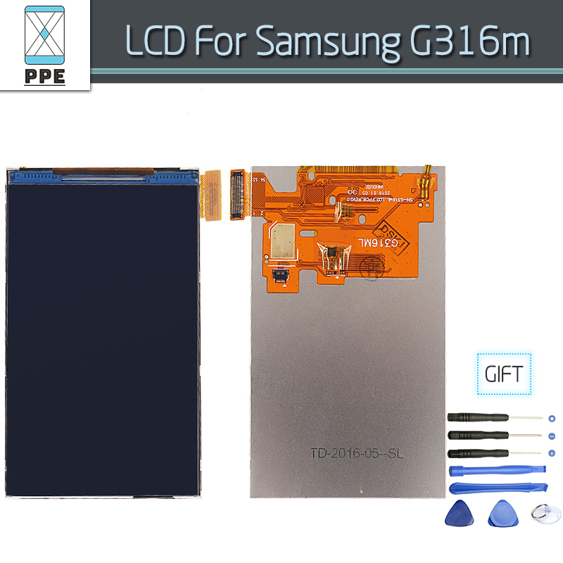 Pantalla lcd para samsung galaxy ace 4 neo g316 g316m g316h g316f teléfono herra