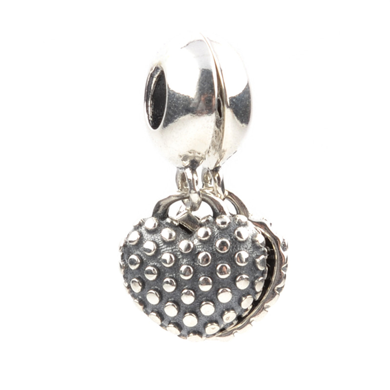 d168d6c10 ... authentic aliexpress buy lucky sonny motherdaughter double charm 925  silver charm bead fit original pandora charm