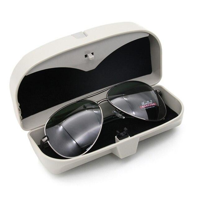 2018 New product Car Glass Glasses Box Case For Peugeot 206 207 208 301 307 308 407 408 508 607 2008 3008 4008 5008 RCZ